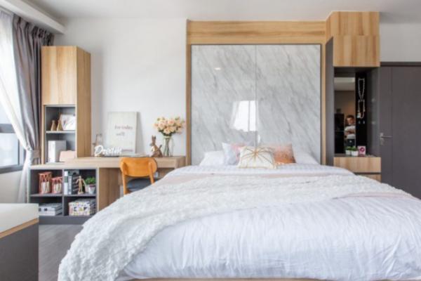 Decorating condo to rent, small area