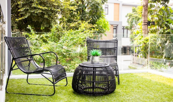 5 cool ideas for decorating a S-sized garden