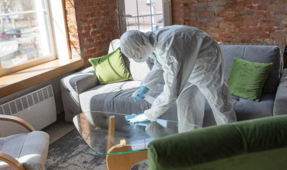 """How to clean """"house"""" if someone is infected with COVID-19"""