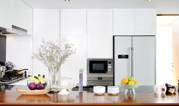How to organize a new kitchen in one day