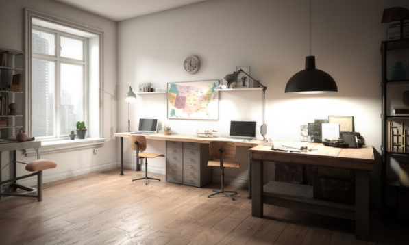 5 tips for organizing home office lighting Encourage work to be better